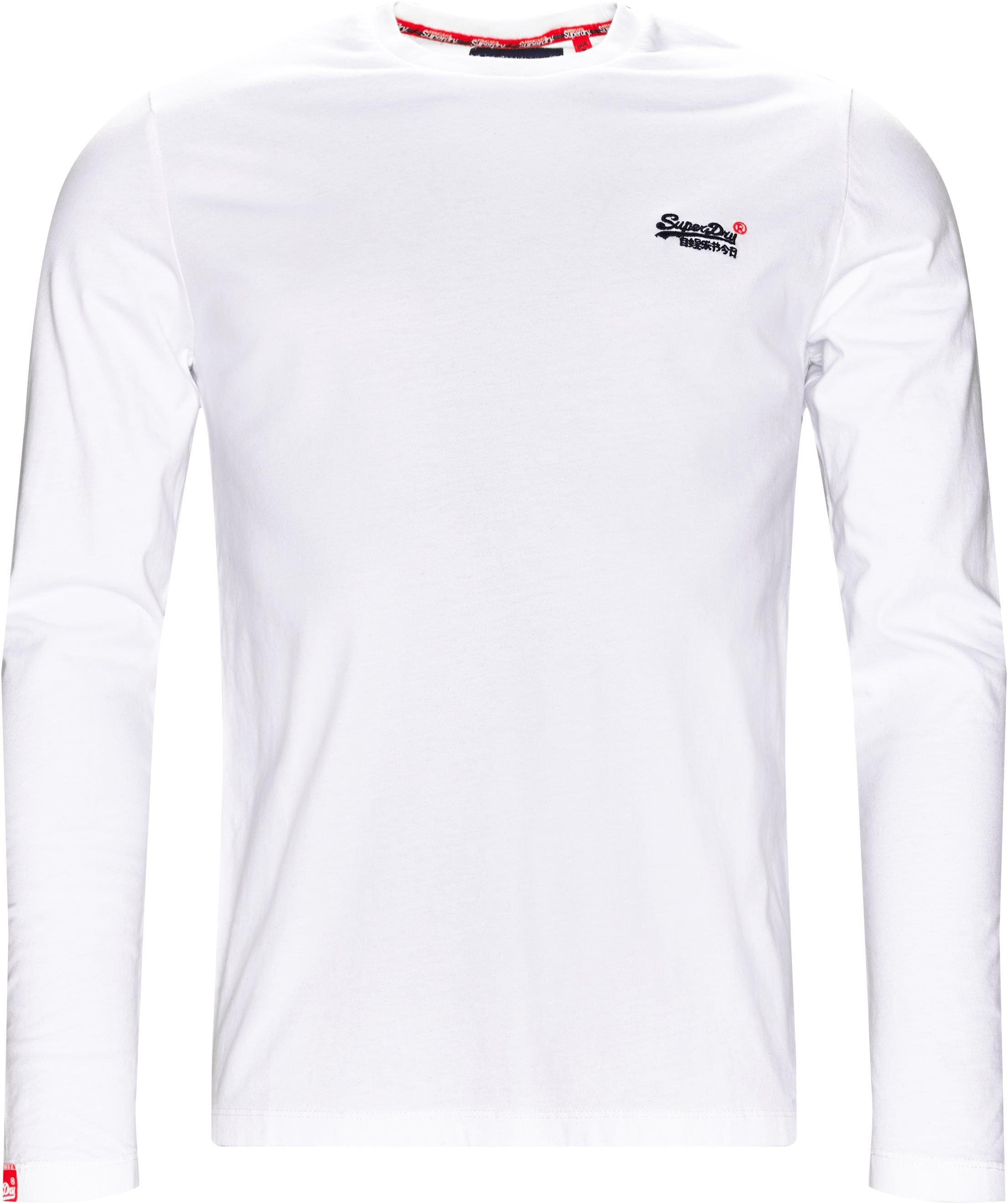 M6000 LS Tee - T-shirts - Regular fit - Hvid